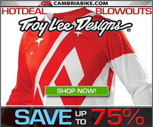 Troy Lee Designs Blowout gear to 75% Off