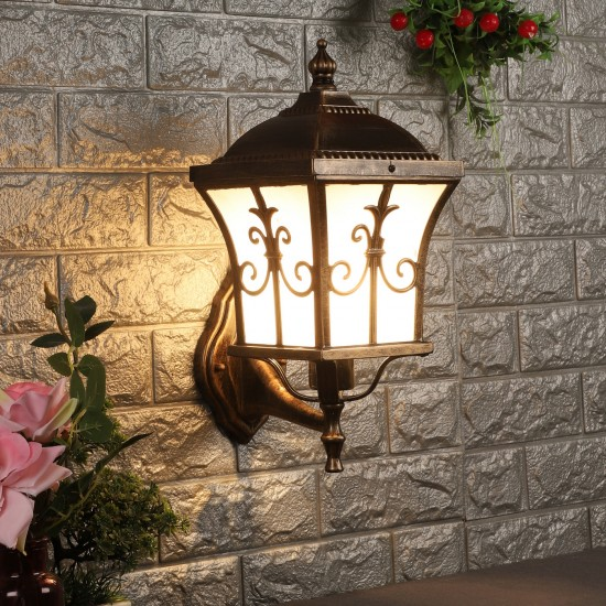 Add a little extra glow with outdoor lights, shop