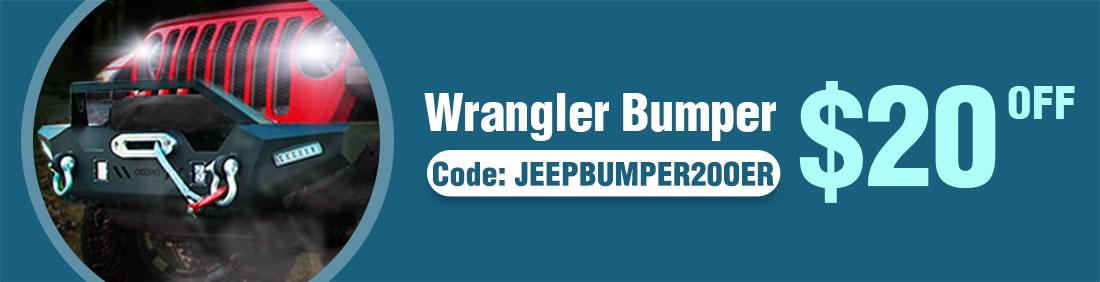 Wrangler bumper