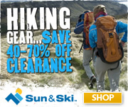 Find Camping & Hiking Gear at Sun & Ski!