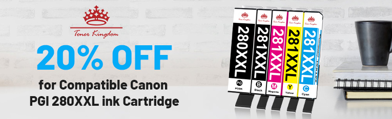 20%off for Ink 280 281