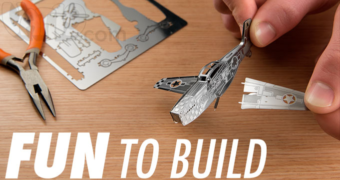 Create miniature 3D models with Metal Works.