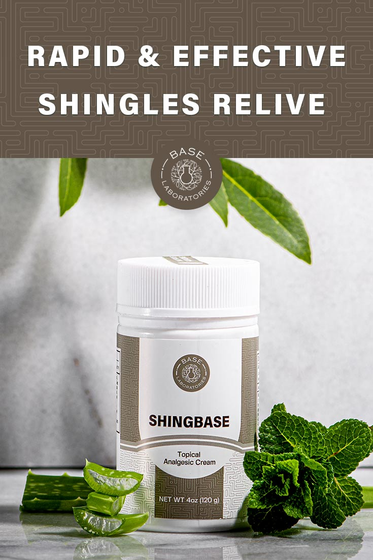 Shingles Pain Relief Cream