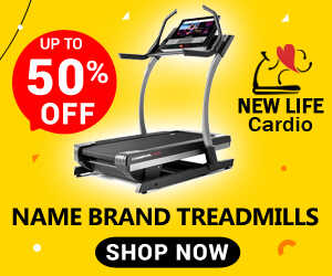 Up To 50% Off Name Brand Treadmills