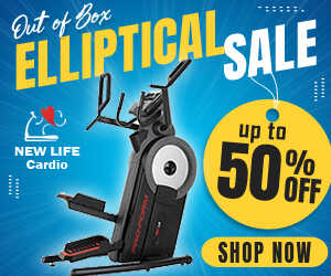 50% Off Ellipticals