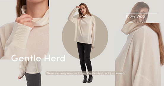 A staple of the stylish and minimalist wardrobe with this turtleneck top. This top features a pure soft wool turtleneck for a luxuriously soft handle.  – Relaxed Fit – 100% Wool