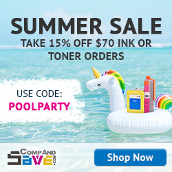 Everyone into the pool for a savings party! Take 15% off any order of $70 or more at CompAndSave when you use coupon code POOLPARTY at checkout!