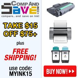 Get $15 off $75+ at CompAndSave