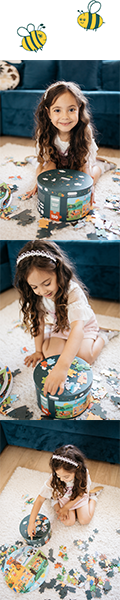 Kids will be able to enjoy the fun of putting together a delightful image of a jigsaw puzzle that is a bit more brainy than some they are already familiar with.