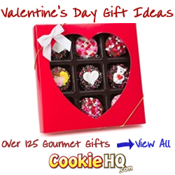 Valentine's Day Gift Ideas at CookieHQ.com