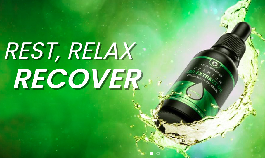 Rest, Relax and Recover with Krush Organics