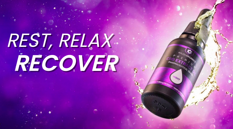 Rest, Relax & Recover with Krush Organics