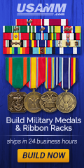 Build Military Medals & Ribbon Racks Online. Ships in 24 Business Hours.