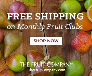 Free Shipping on Fruit Clubs!
