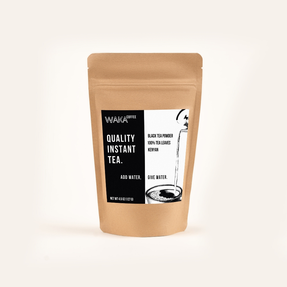black kenyan instant tea