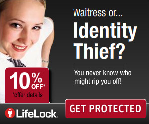 Sign up for LifeLock today and receive 10% off!