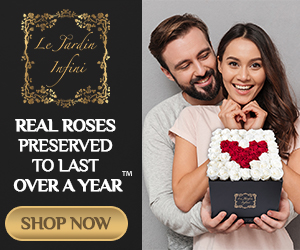 Preserved Roses- real roses couple