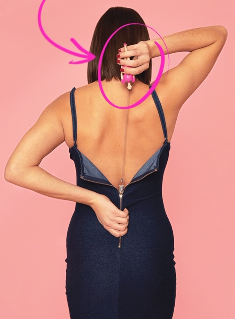 Zip Up The Back Of Your Dress By Yourself