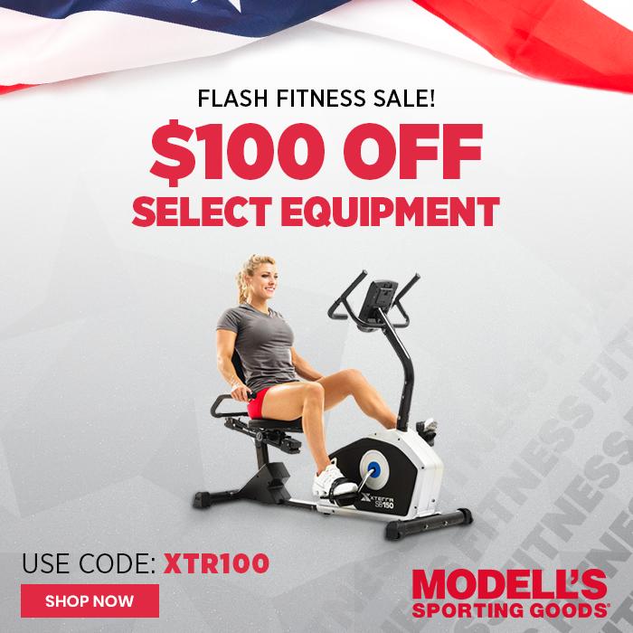 Save $100 on Select Xterra Cardio equipment