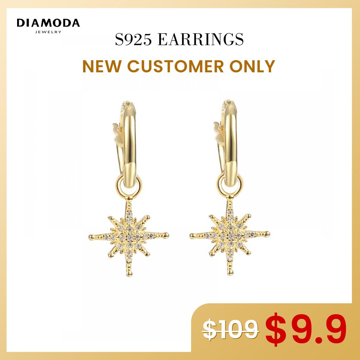 S925 Earrings $9.9 For New 5