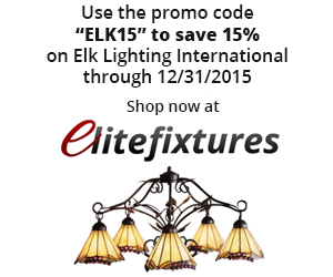 15% Off on ELK Lighting