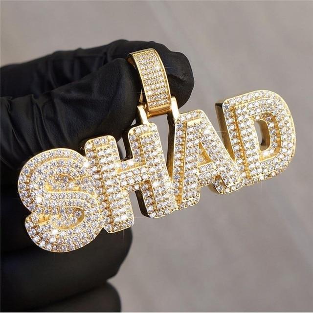 DIAMONDS ICED OUT PENDANT