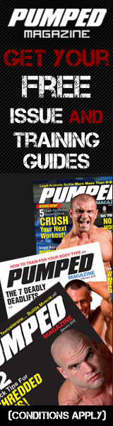 Get a free issue of the leading bodybuilder magazine, Pumped Magazine, plus two free training guides. Want more? We're also throwing in the chance for you to enter to win our free fitness magazine subscription for an entire year!