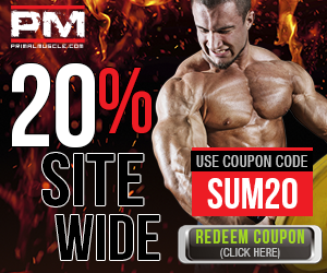20% Off Site Wide at PrimalMuscle.com!