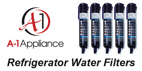 Refrigerator Water Filters from A-1 Appliance                 Parts