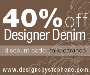 40% Fall Clearance Sale