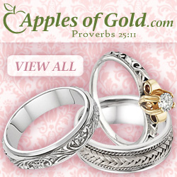 Affordable, Unique Wedding Rings from Apples of Gold