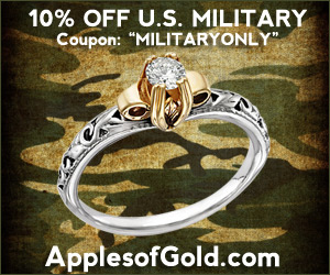 ApplesofGold.com - 10% OFF Year-Round Discount for U.S. Military