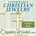 Affordable Fine Christian Jewelry from Apples of Gold!