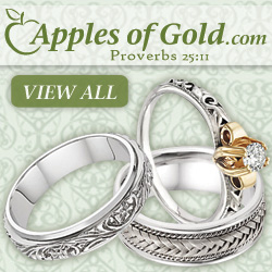 Wedding Rings from Apples of Gold