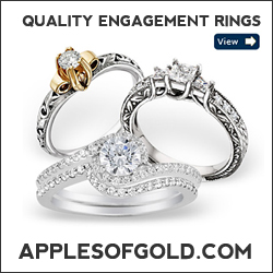 ApplesofGold.com - Quality Engagement Rings
