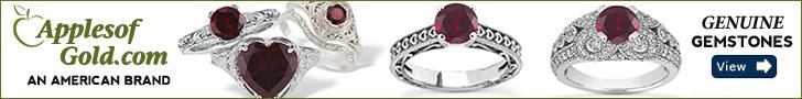 ApplesofGold.com - Gemstone Rings