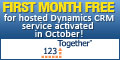 Hosted Dynamics CRM - First month FREE