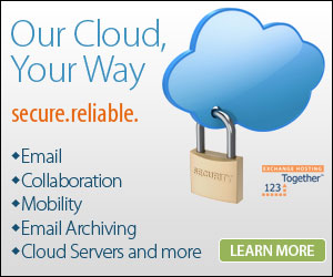Cloud services. Microsoft Exchange, SharePoint, Mobility, Archiving Cloud Servers and more