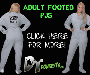 Adult Footed Pajamas (Affiliate Link)