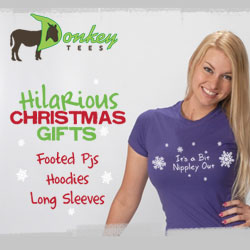 christmas gifts, funny christmas shirts, adult footie pjs, pajamas