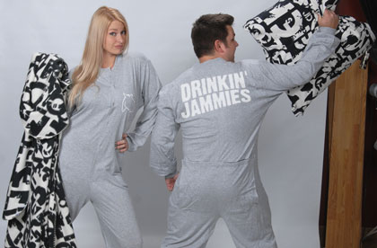 pajamas, funny pajamas, mens footed pajamas, footie pjs, footie pajamas