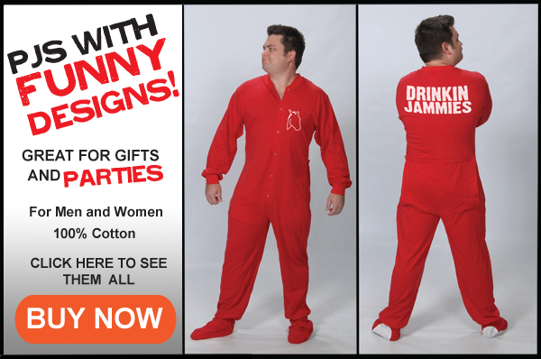 Adult Footed Pajamas