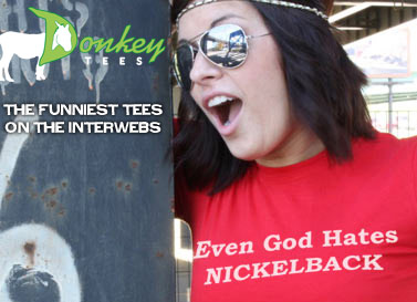 Donkeyts.com the funniest tees on the interwebs