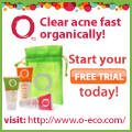 Clear acne fast organically! Start your free trial today!