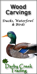hand carved waterfowl