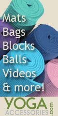 Mats, Bags, Balls, Videos and more at Yoga Accessories