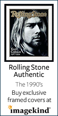 Buy Rolling Stone Authentic framed covers at Imagekind
