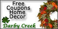 Free Coupons for Darby Creek Trading