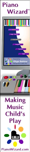 Have you played the Piano Wizard Online Games Yet! Elementary School  students exposed  to music based  lessons scored 100% higher  on Fraction Tests 34% hight on  Spatial-Temporal ability Get More  Information Click Here