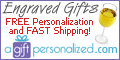A Gift Personalized, Engraved Gifts Logo